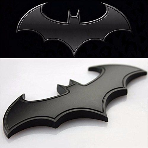 Batman Symbol Sticker Sheet Dealetech Diy Bat 3d Metal Sticker