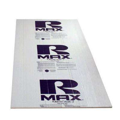 Rmax Plus 3 1 2 In X 4 Ft X 8 Ft R 3 2 Polyisocyanurate Rigid Foam Insulation Board Rigid Foam Insulation Insulation Board Floor Insulation
