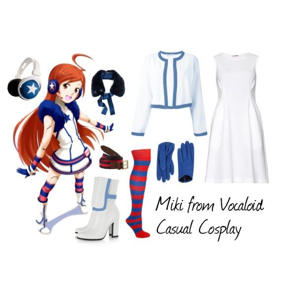 Miki from Vocaloid | Casual cosplay, Anime inspired outfits