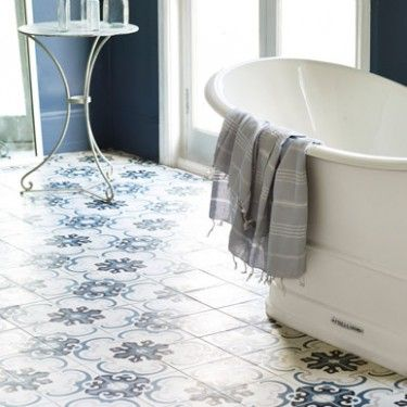 Encaustic Tiled Floor Bathrooms Bathroom Fired Earth