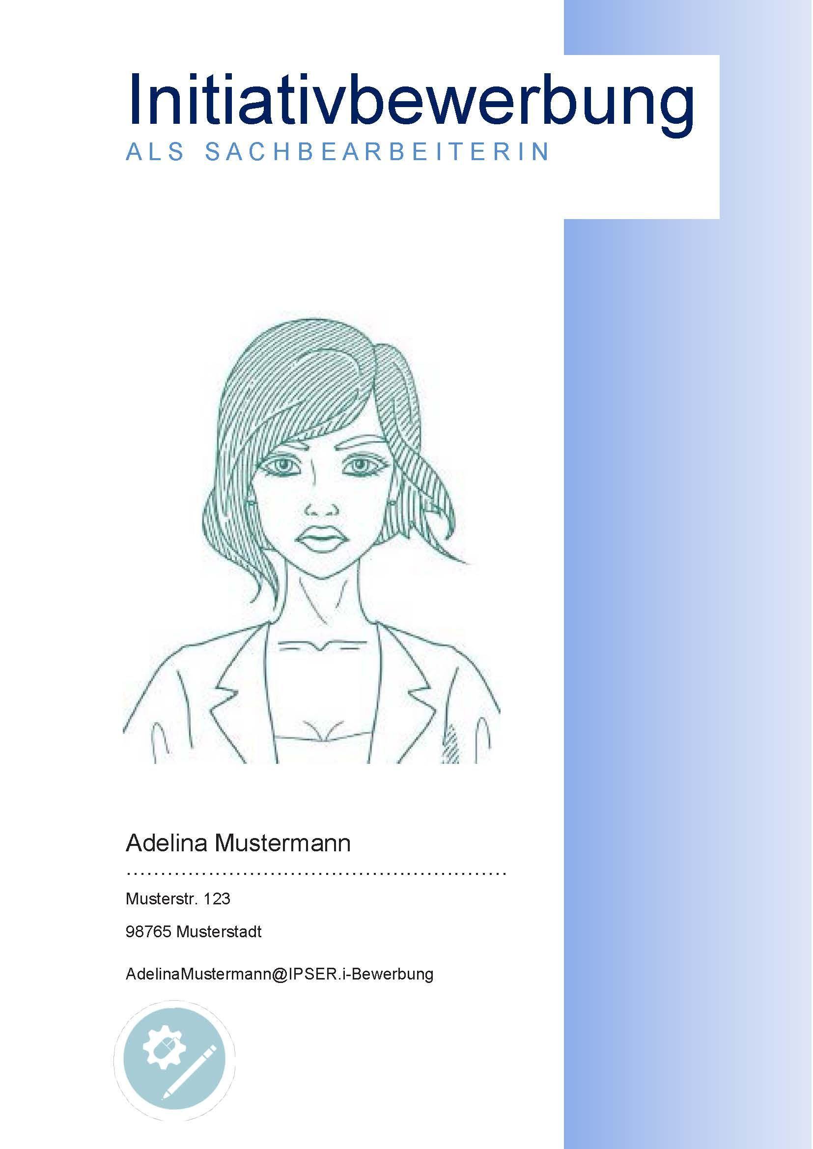 Beispiel Deckblatt Zur Initiativbewerbung Als Sachbearbeiterin Adelina 624 Deckblatt Vorlage Vorlage Deckblatt Bewerbung Deckblatt