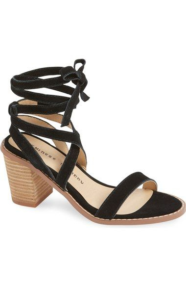 Chinese Laundry  Calvary  Wraparound Ankle Strap Sandal (Women) available  at  Nordstrom 39a72e943e