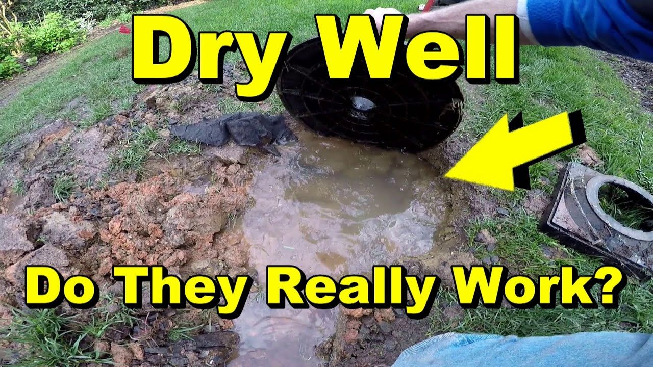 Dry Well Drainage