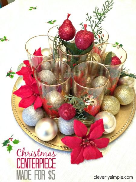 How To Create A Meaningful Christmas Centerpiece For 5 Christmas Centerpieces Diy Christmas Party Centerpieces Christmas Centerpieces