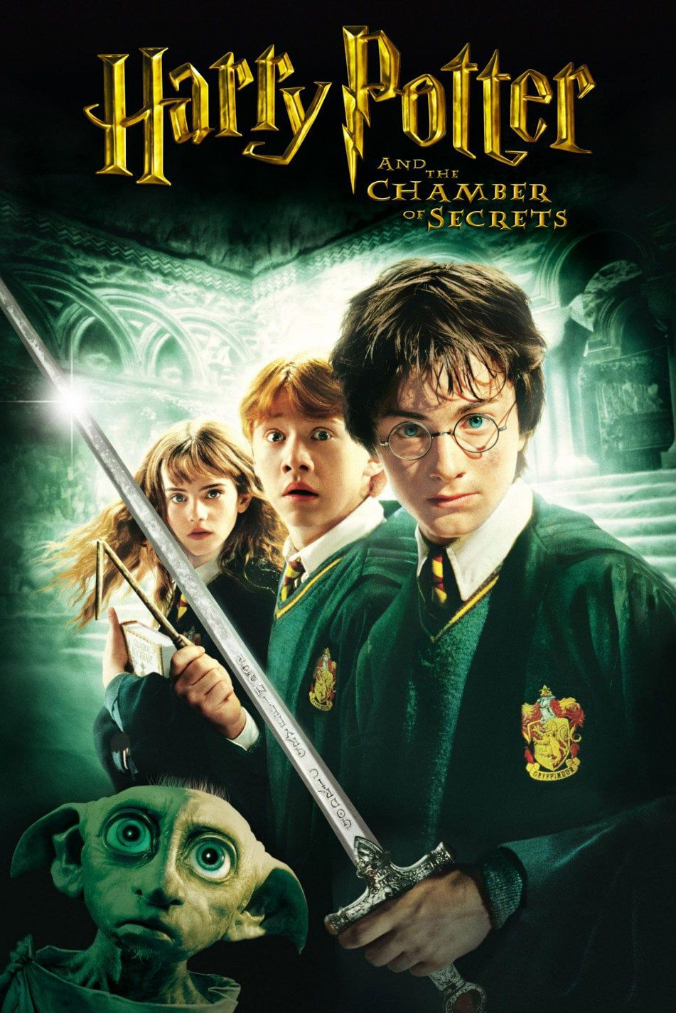Harry Potter and the Chamber of Secrets | Harry potter movie posters, Harry  potter movies, Chamber of secrets