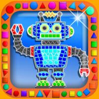 Superzaic - Kids Mosaic iPad app