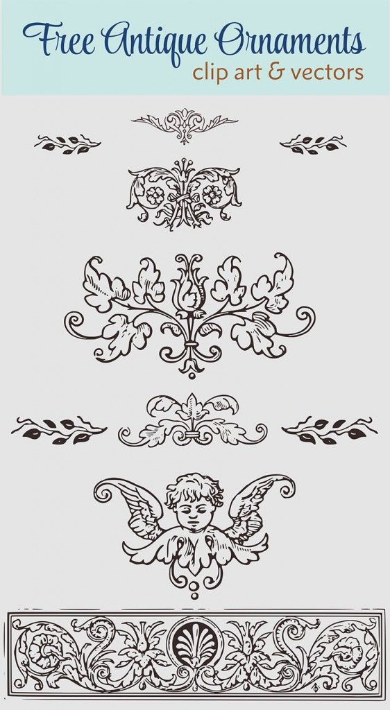 6346f180a5356f Royalty Free Images - Vintage Decorative Ornaments Clip Art   Vector ...