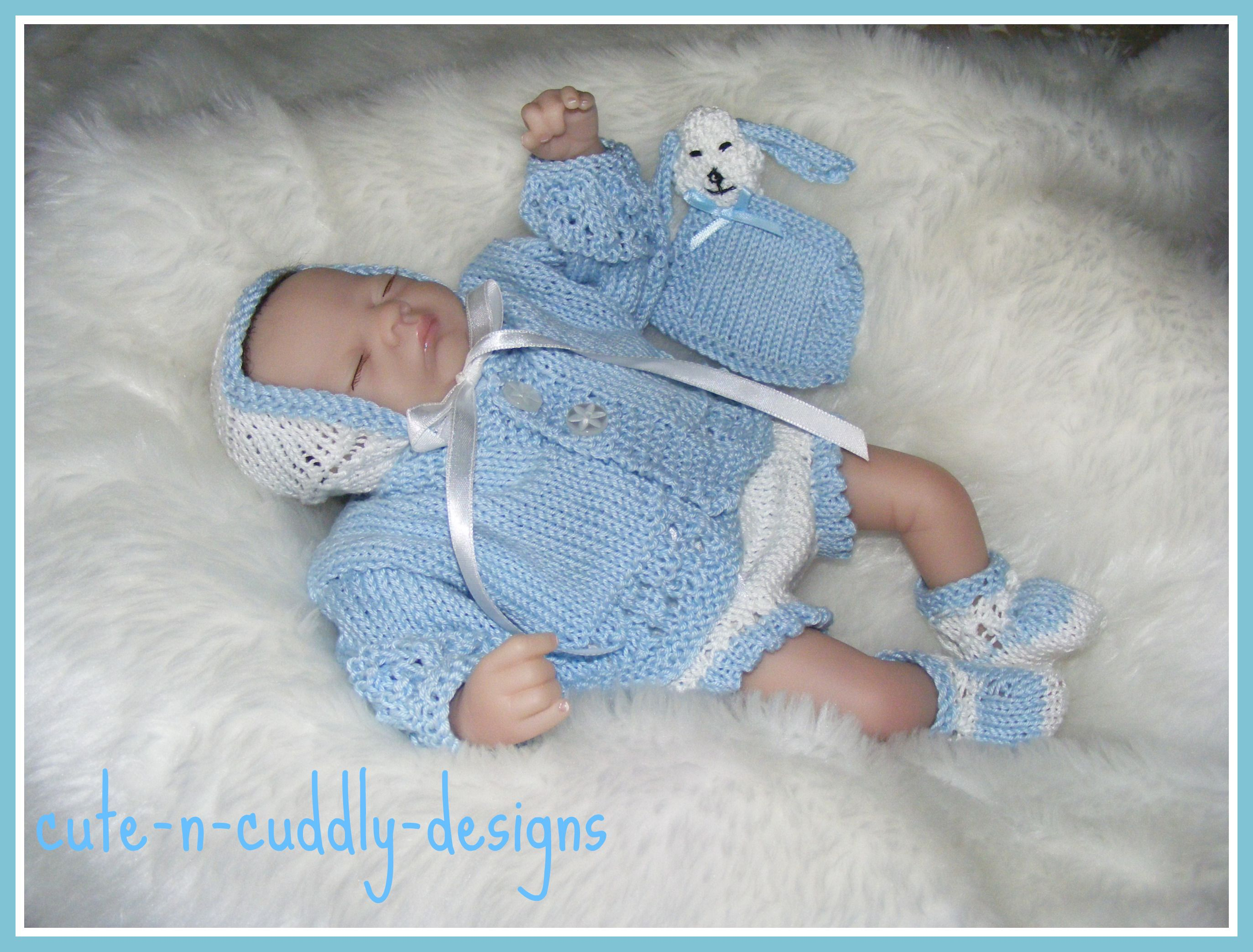 Knitting pattern twice as cute knitting small 2 pinterest reborn and baby knitwear for sale also knitting patterns for babies and dolls clothing bankloansurffo Images