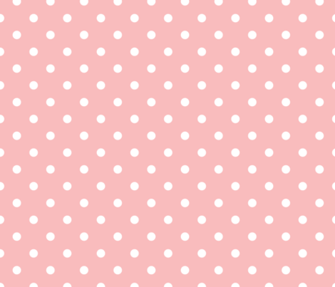 Colorful Fabrics Digitally Printed By Spoonflower Powder Pink And White Polka Dots Powder Pink Polka Dot Fabric Pink Dots