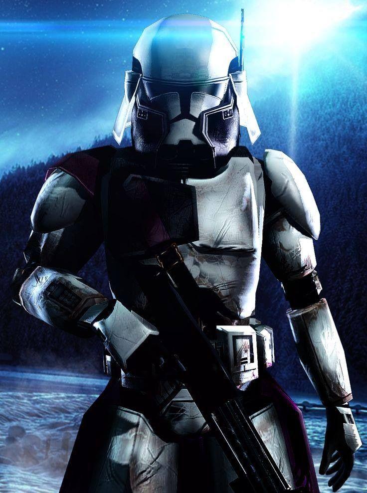 star wars clone commander bacara star wars collage