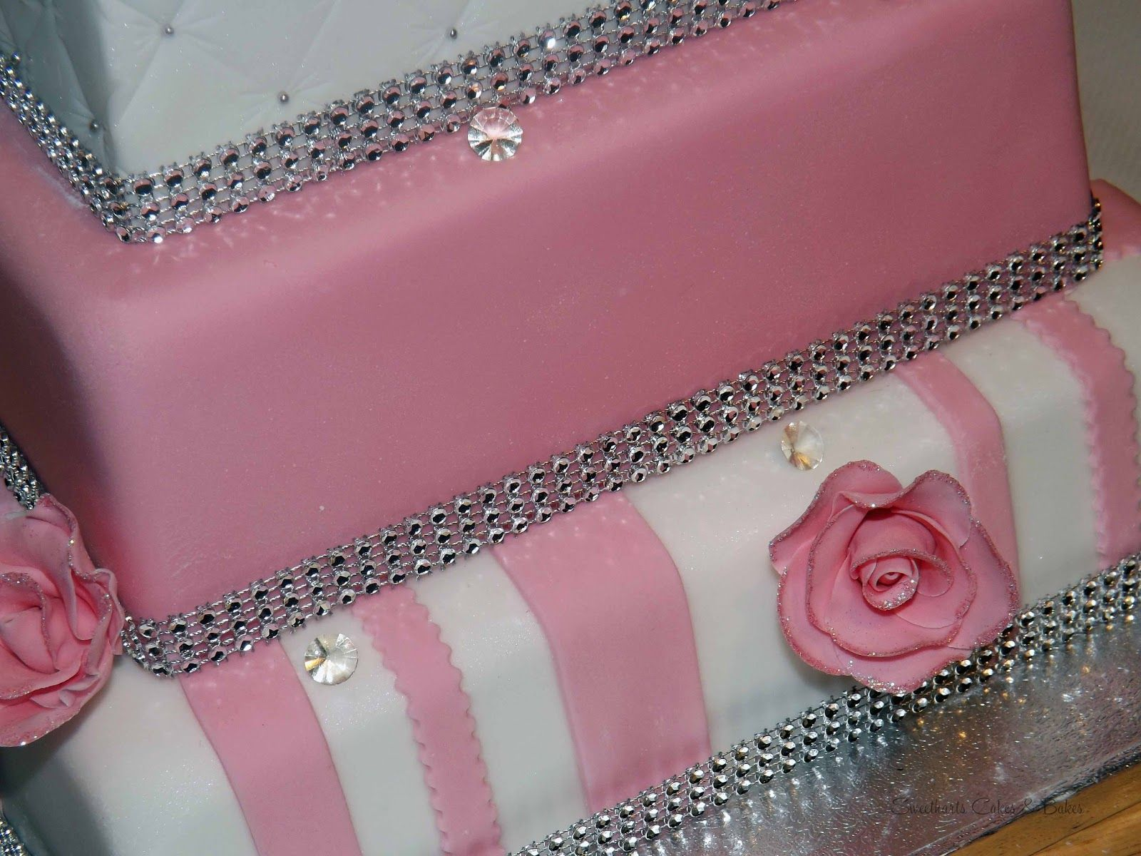 how to make a sweet 16 birthday cake