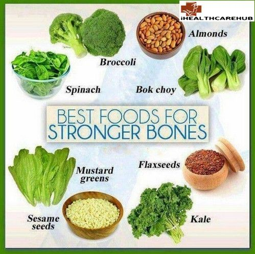 The Best Foods To Strengthen Bones  A Nice Chart Nuts Seeds