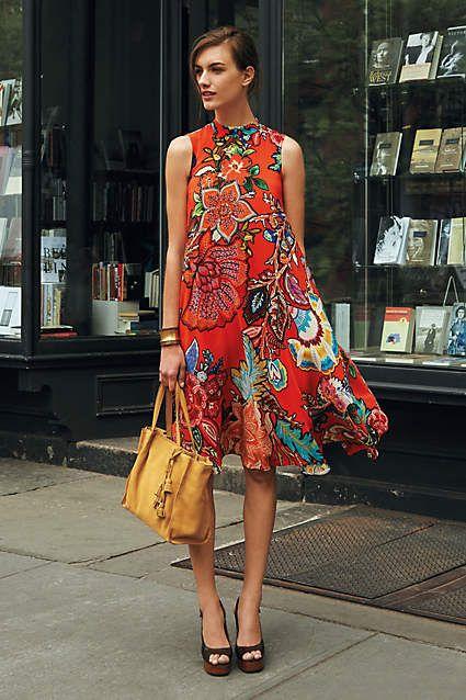 Larkhill Swing Dress - #anthroregistry