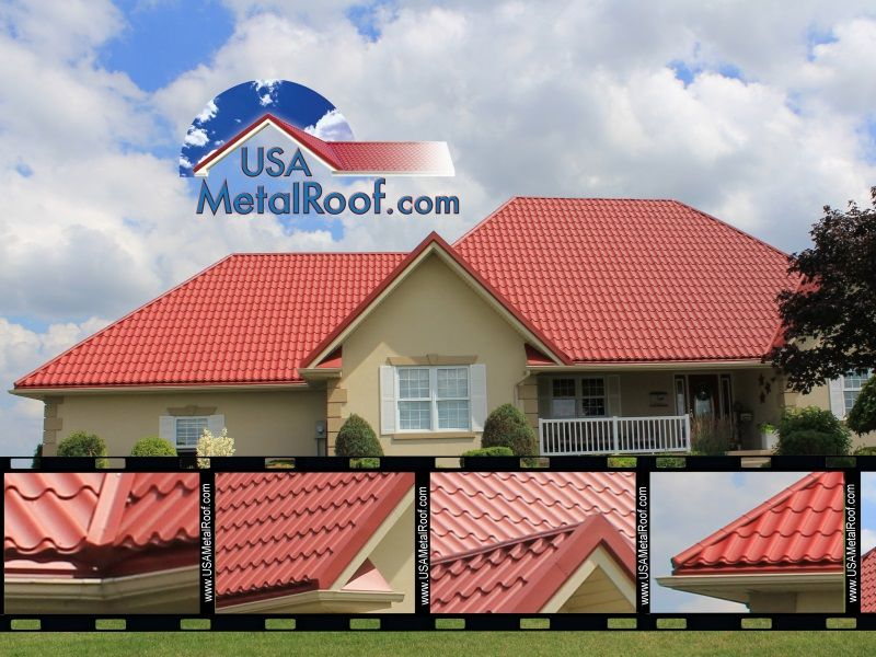 Best Colonial Red Metal Roof Metal Roof Panels Roof Panels 640 x 480