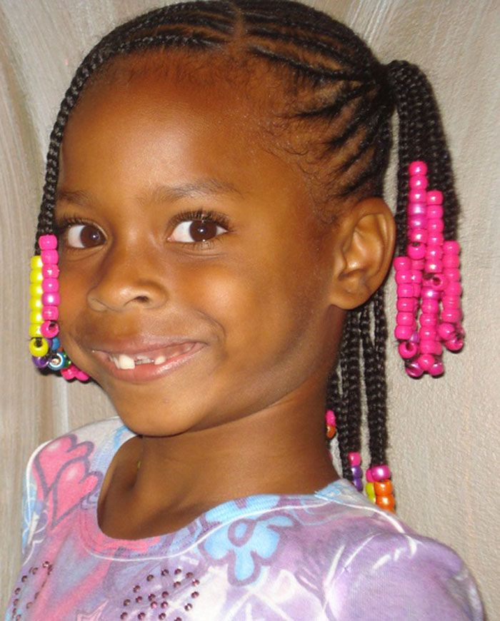 Tremendous 1000 Images About Kids Hairstyles On Pinterest Cornrows Hairstyles For Women Draintrainus