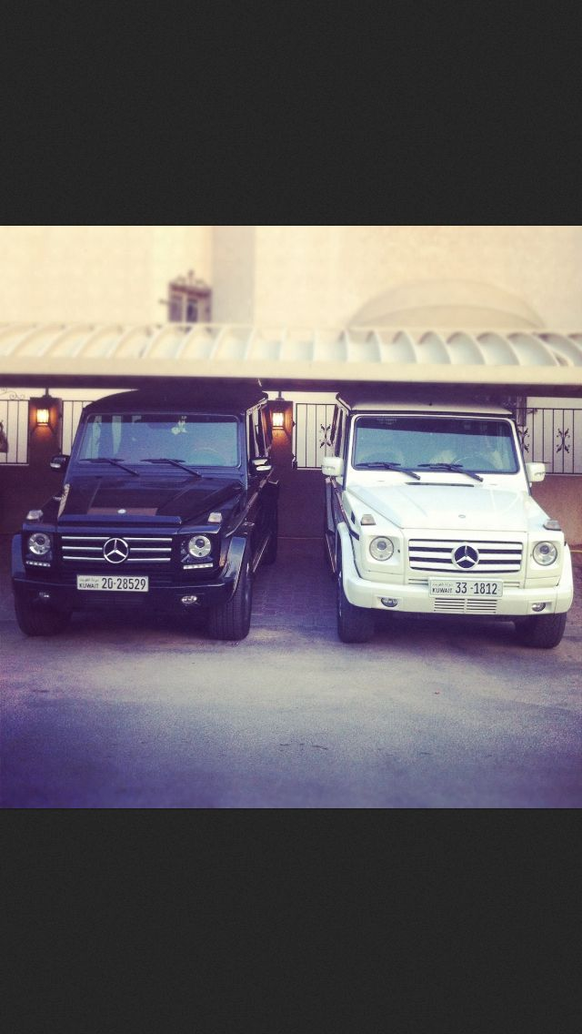 Mercedes g class black and white