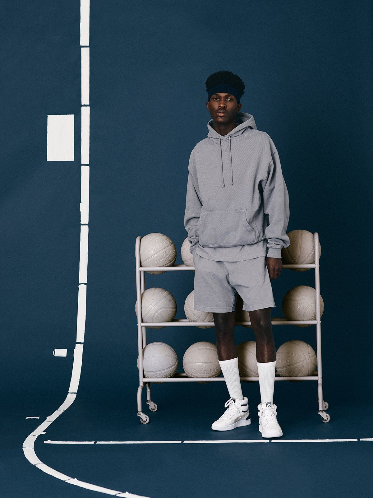 News Ralph Sampson Sport Editorial Tennis Fashion Editorial