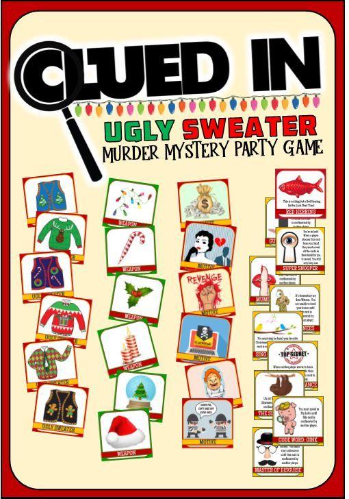 Photo of Unser Murder Mystery Ugly Sweater-Partyspiel erfordert keine Skripte, keine Komplikationen …