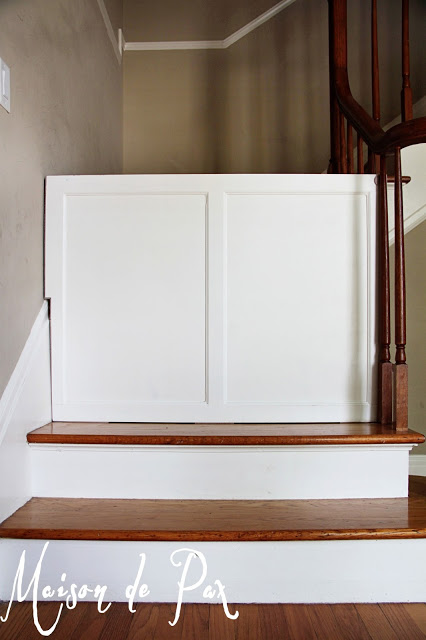DIY Baby Gate: Make Your Own Sliding Baby Gate For Your Stairs!