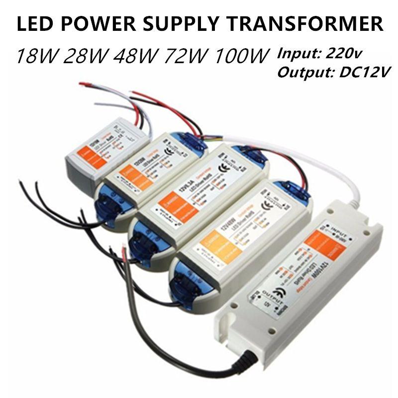 Led Stromversorgung Führte Transformator 12 V Led Treiber 5