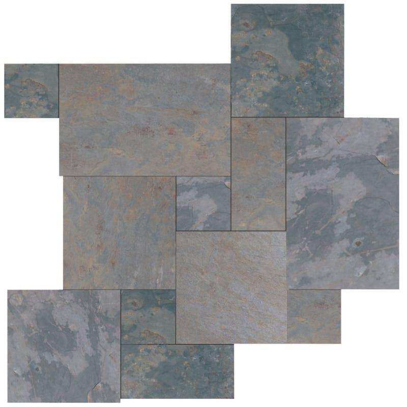 Daltile Spatternp Slate Flooring Ceramic Floor Tiles Stone Tiles