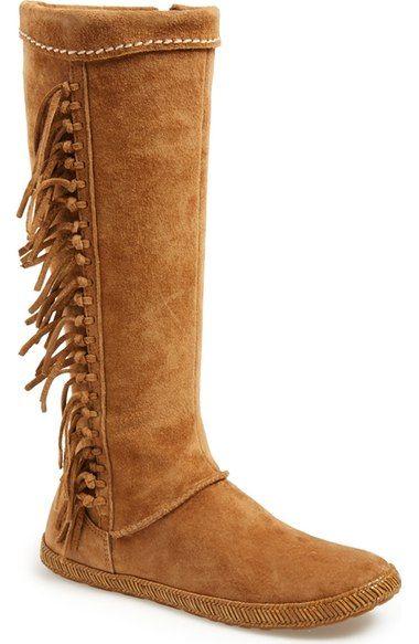 c1e336e4a18 UGG® Australia 'Mammoth' Water Resistant Knee High Fringe Boot ...