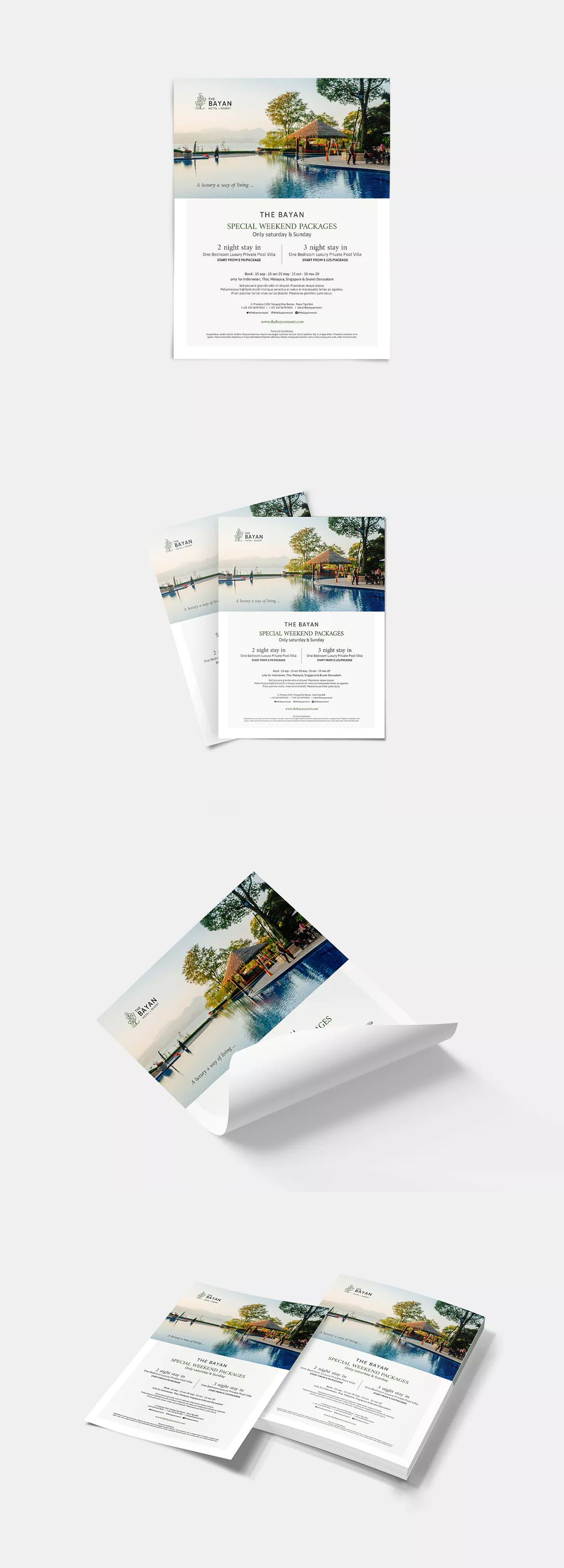 hotel package flyer by silukeight on packages cv format for engineers free download network engineer resume career objective administrative assistant