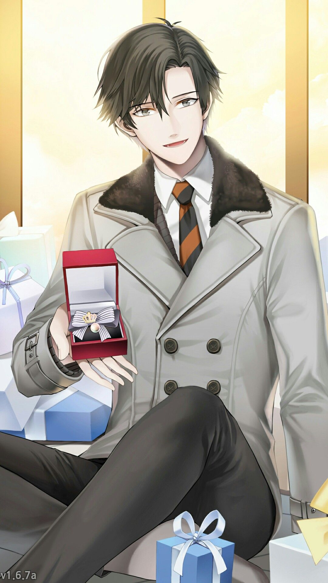 Jumin Han in Valentine After ending Being spoiled by the