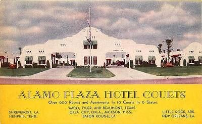 My Aunt Used To Manage This Motel Plaza Hotel Alamo Hotel