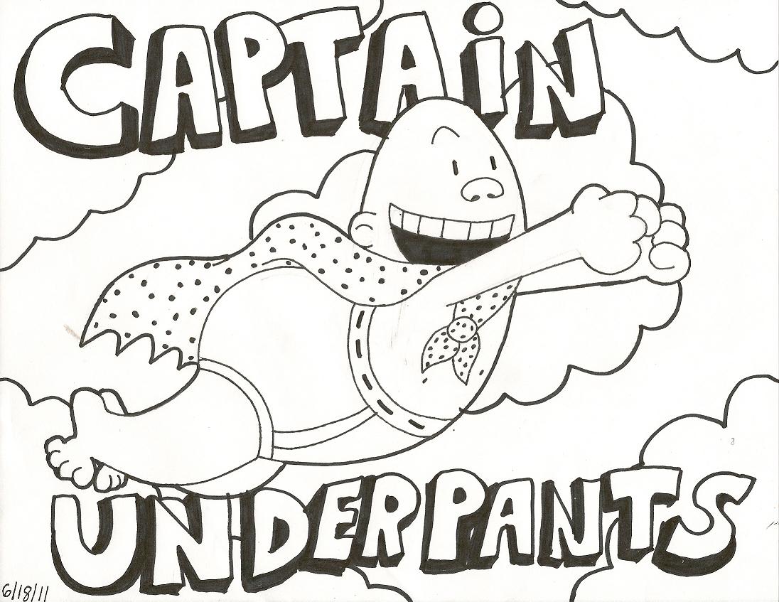 Cool Captain Underpants Coloring Pages Printable For Kids Captain Underpants Coloring Books Coloring Pages