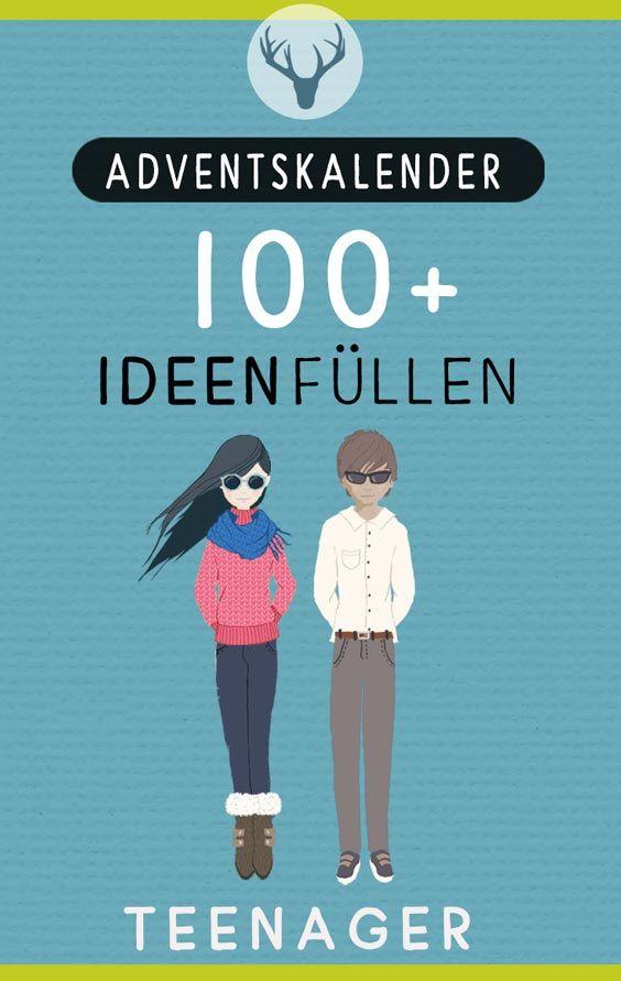 Tolle Ideen: Adventskalender für Teenager selbst füllen #adventskranzideenkinder