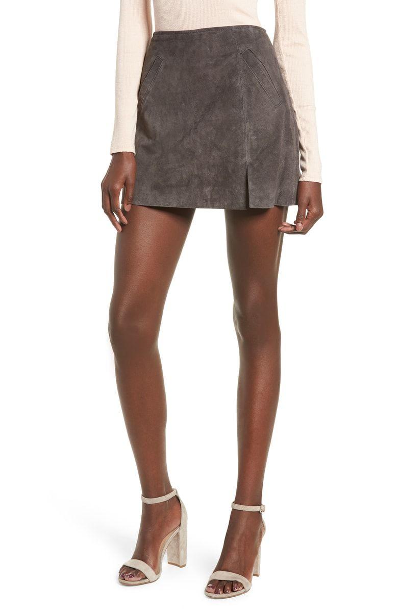 fe22ae5822 Blanknyc Womens Grey Mini Skirt | Saddha