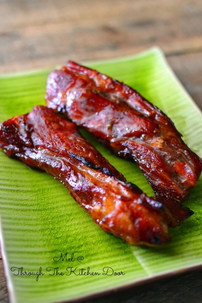 Through The Kitchen Door: This is it.......Delicious Char Siew!!