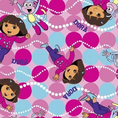 "Springs Creative Dora Fabric 44/"" New on Bolt 100/% Cotton"