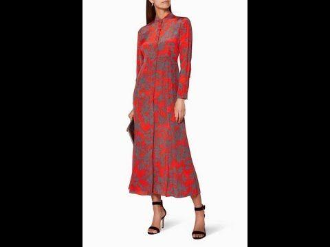 احدث ازياء المصممه ديان فون فورستنبرغ Diane Von Furstenberg Long Sleeve Dress Maxi Dress Dresses With Sleeves
