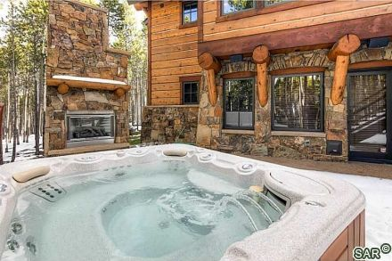 Hot tub in Colorado snow? Log Homes Pinterest Hot tubs