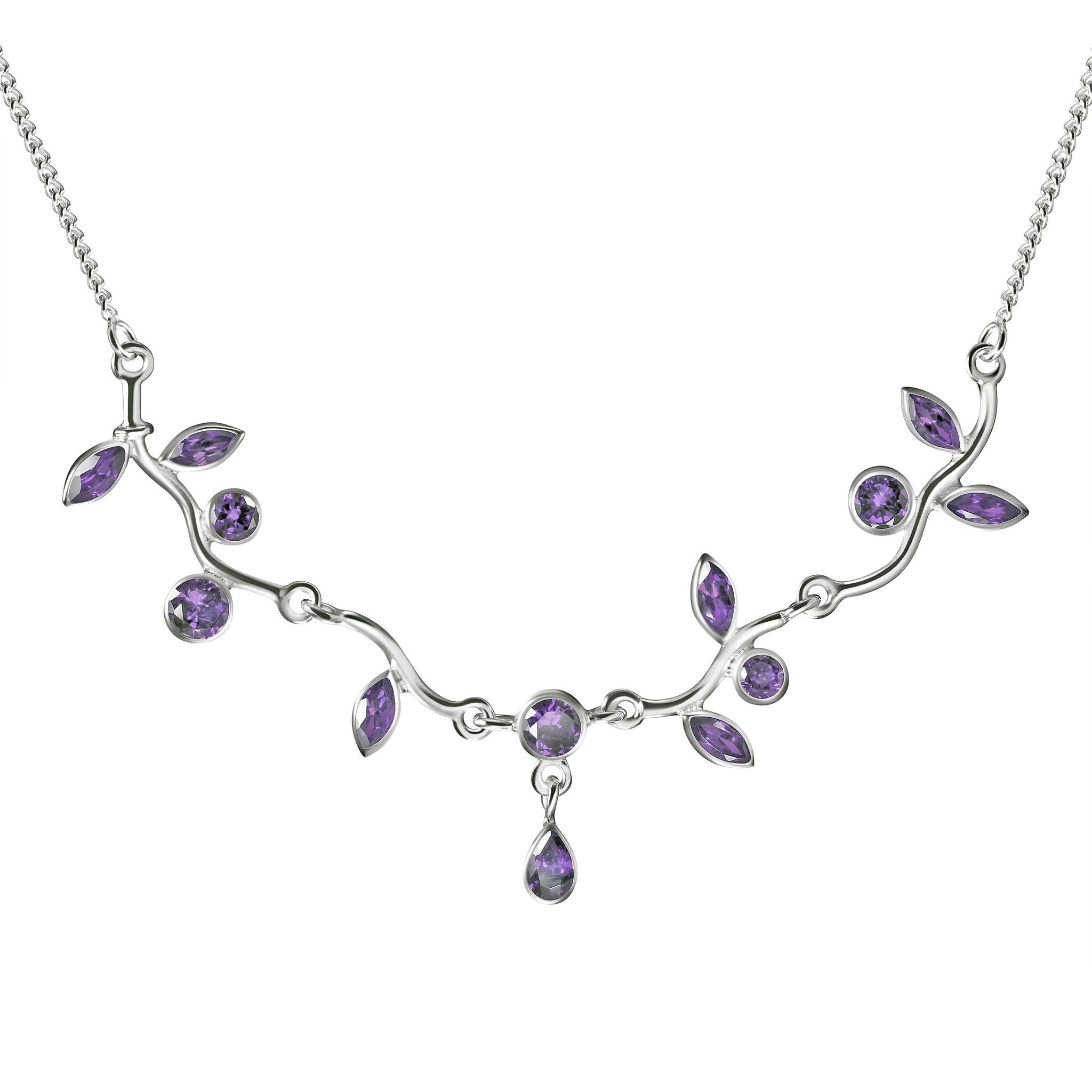 new v and diamond gemstone necklaces a jewellery elegant gemstones gemwhite
