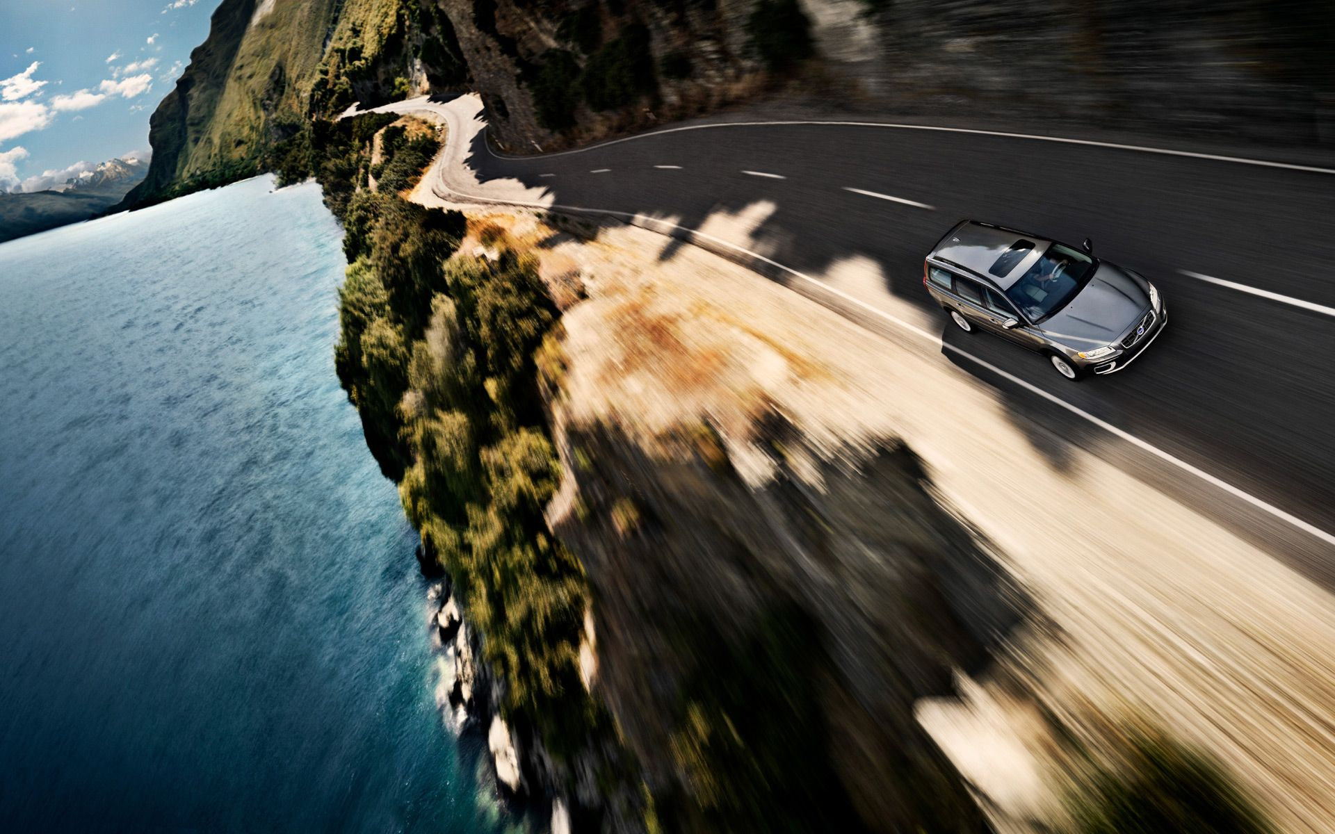Why not take a long drive in the Volvo XC70