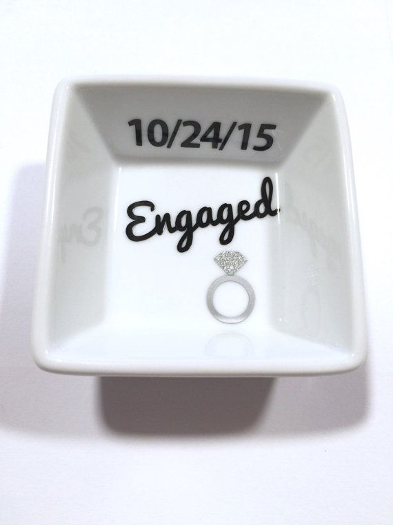 a ring 4x6 Opening one little thing Christmas Gift for Engagement Christmas Engagement Gift  Engagement Picture Frame Santa