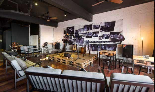 Stage Cafe Bistro Bar Restaurant Hotel Interior