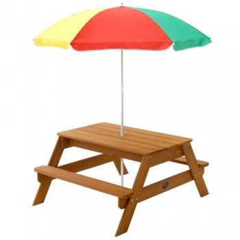 Outdoor Toys Picnic Table With Umbrella Picnic Table