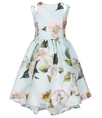86701424e1 Pippa   Julie Little Girls 2T-6X Cutout-Shoulder Floral Fit-And-Flare Dress