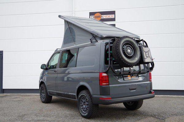 umgebaute volkswagen transporter t6 terranger travel vw transporter volkswagen. Black Bedroom Furniture Sets. Home Design Ideas