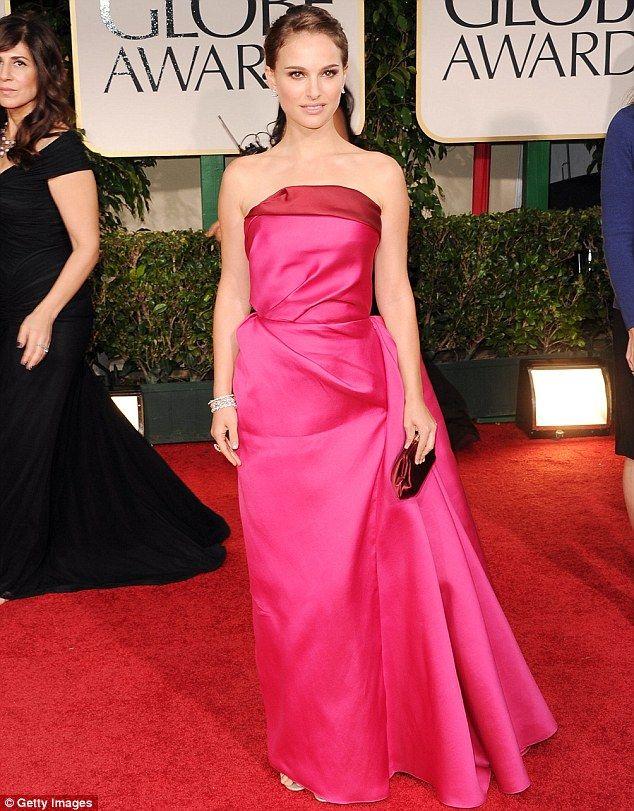 Natalie Portman makes a stunning red carpet return at the Golden ...