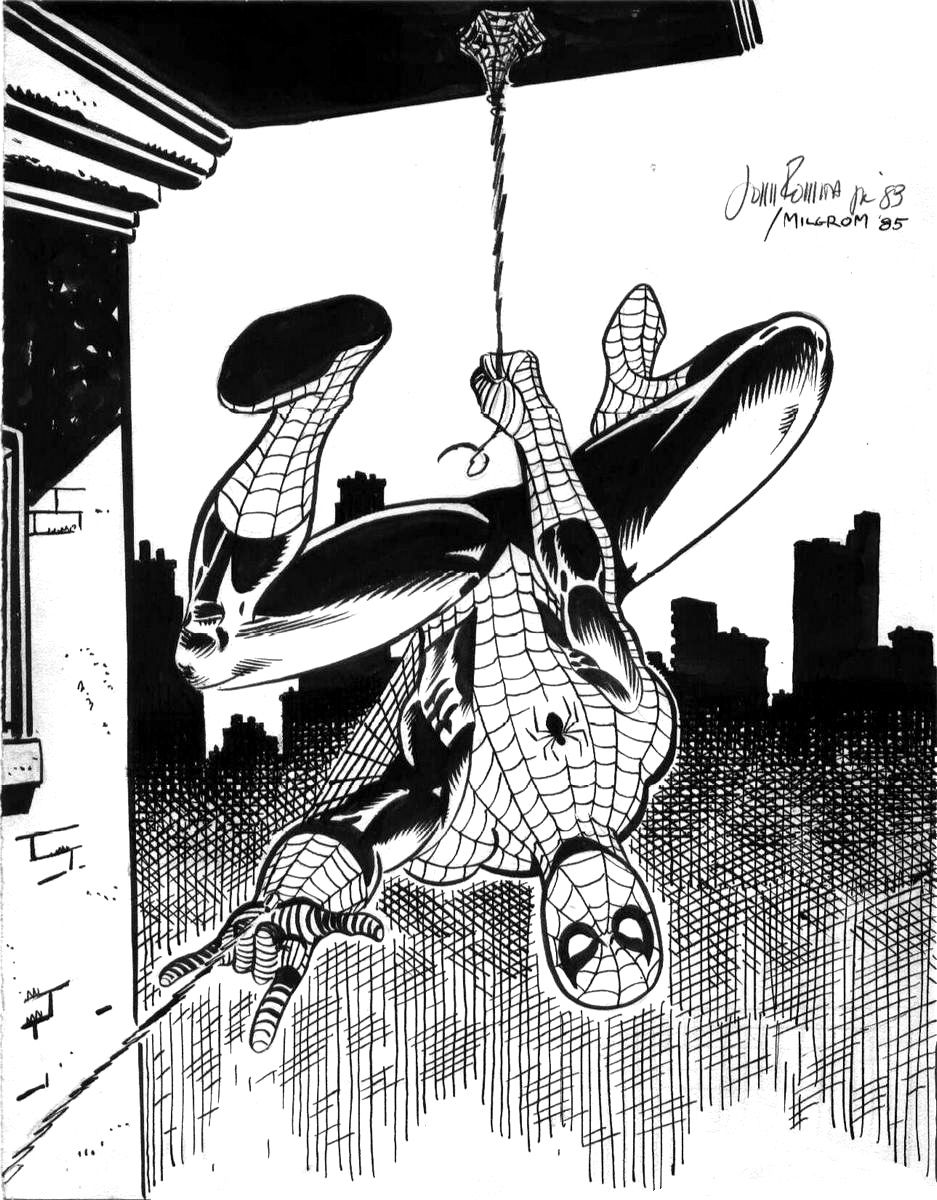 1983 - Amazing Spider-Man by John Romita Jr and Al Milgrom