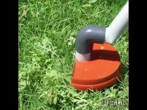 Easy Grass Cutter Tool How To Make Youtube Grass Cutter How To Make Grass
