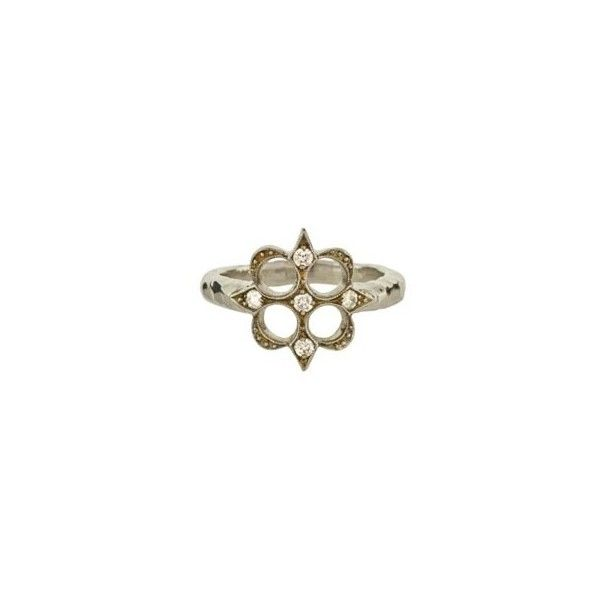 Cathy Waterman Arrow Square Ring ❤ liked on Polyvore featuring jewelry, rings, cathy waterman, square rings, cathy waterman ring and cathy waterman jewelry