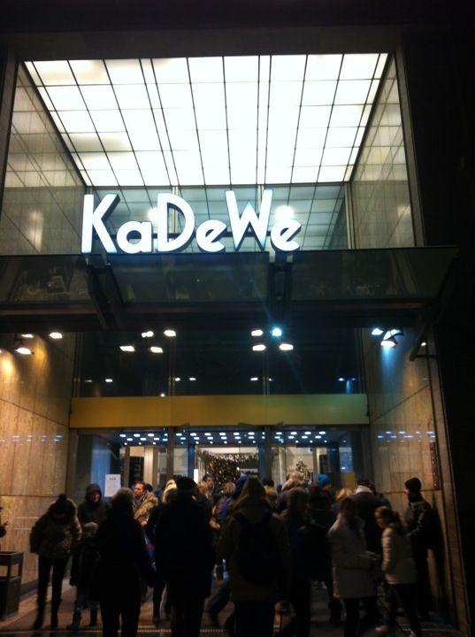 Kaufhaus Des Westens Kadewe Food Hall Berlin Germany Berlin