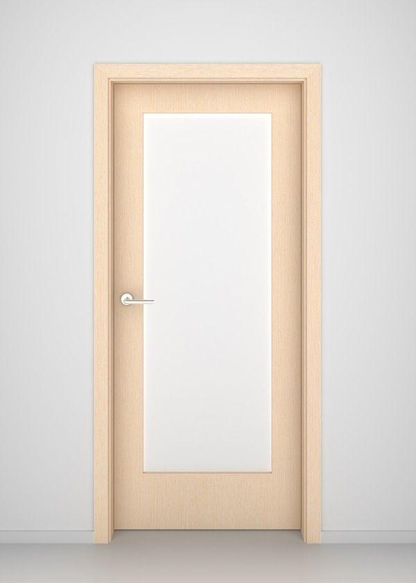 Bleached Oak Madison Glass Interior Door - Bleached Oak Interior Doors - Doors
