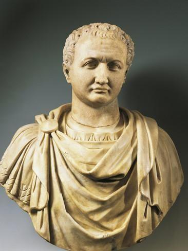 Bust Of Emperor Titus Fotodruck Bei Allposters De Romische Kunst Romischer Kaiser Romische Skulptur